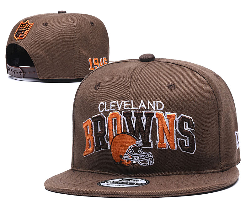 NFL Cleveland Browns Stitched Snapback Hats 008