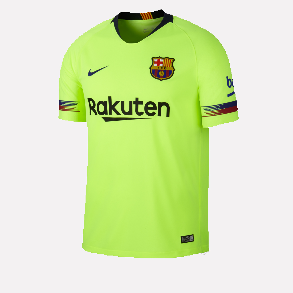 Men's Barcelona Green 2018-19 Away Soccer Jersey