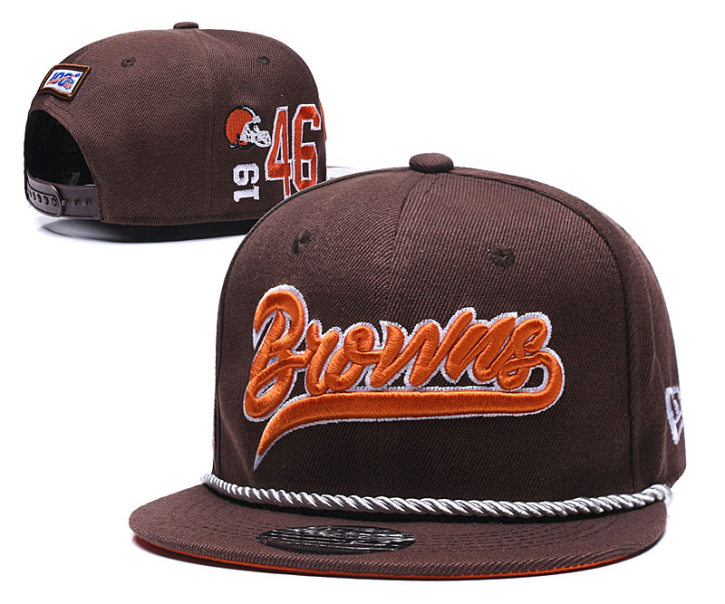 NFL Cleveland Browns Stitched Snapback Hats 015