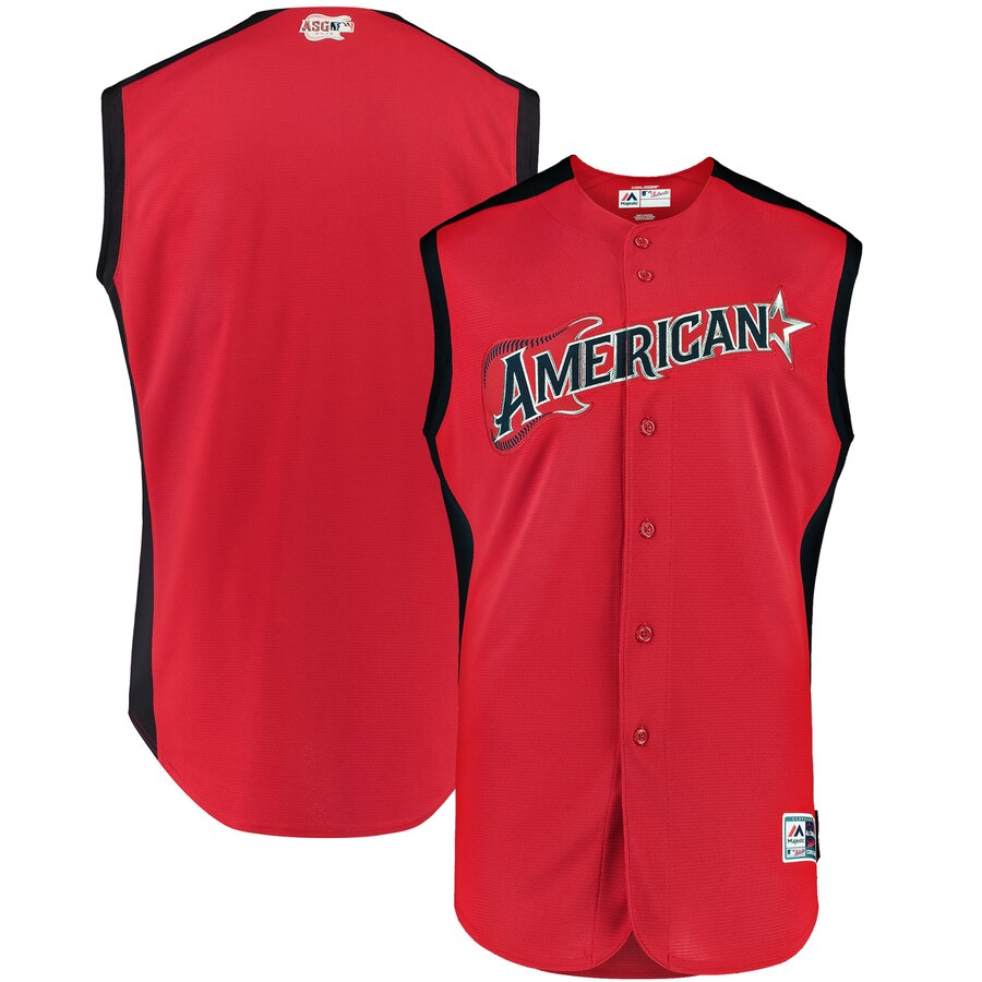 American League Red 2019 MLB All-Star Game Workout Jersey