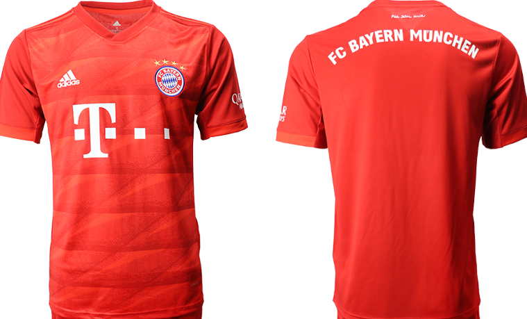 Men's FC Bayern München Red Football jersey