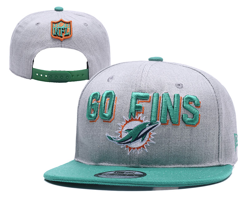 NFL Miami Dolphins Stitched Snapback Hats 012