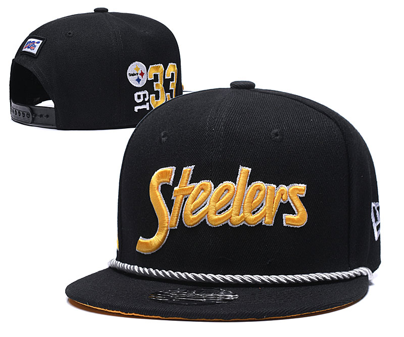 NFL Pittsburgh Steelers Stitched Snapback Hats 024