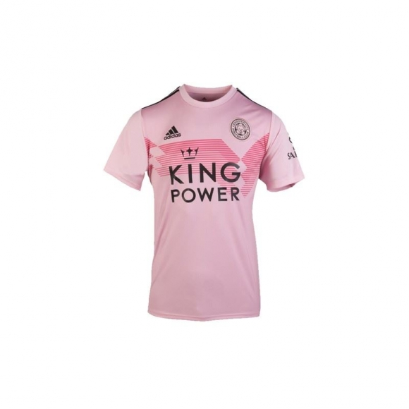 Men's Leicester City Away Pink Custom Soccer Jersey Shirt