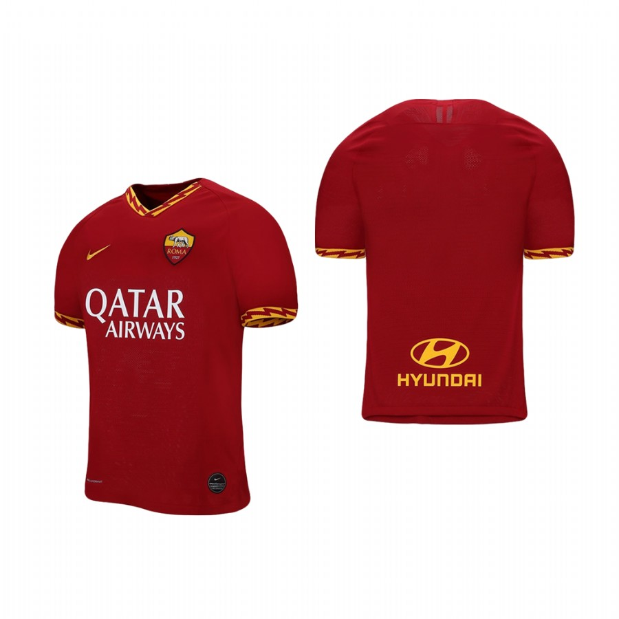 Men's Roma Red 2019 Soccer Club Home Official Jersey