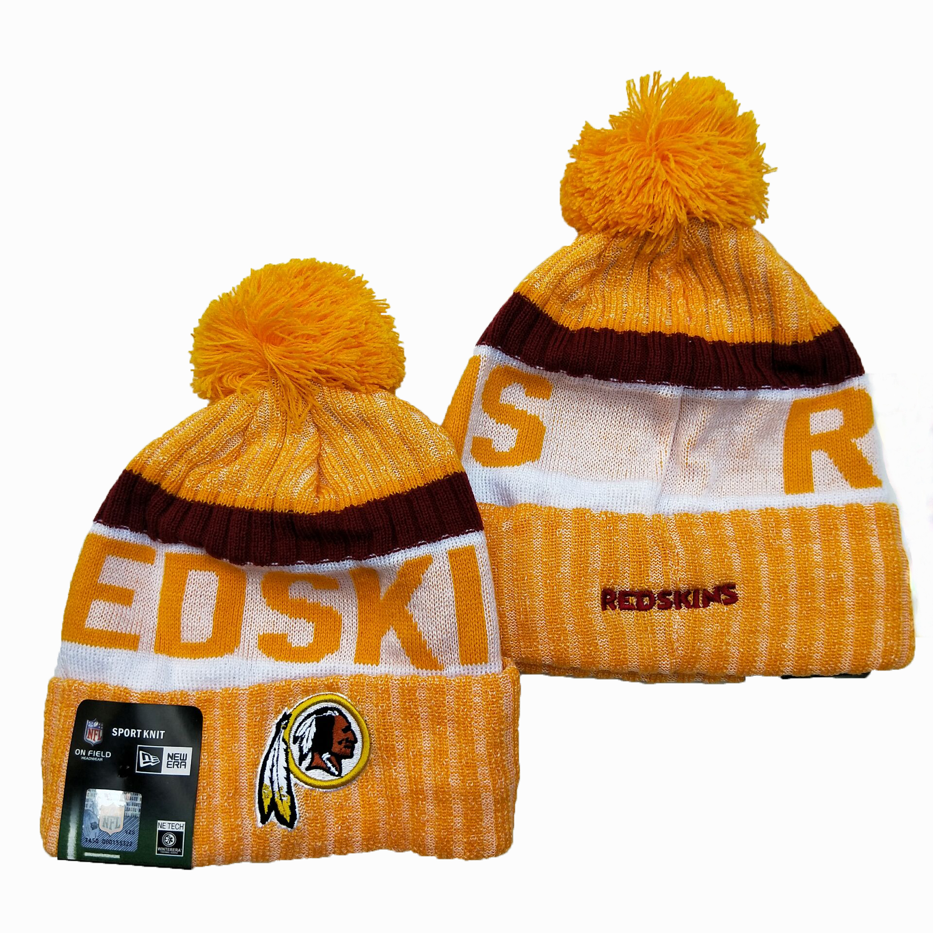 Washington Football Team Knit Hats 042