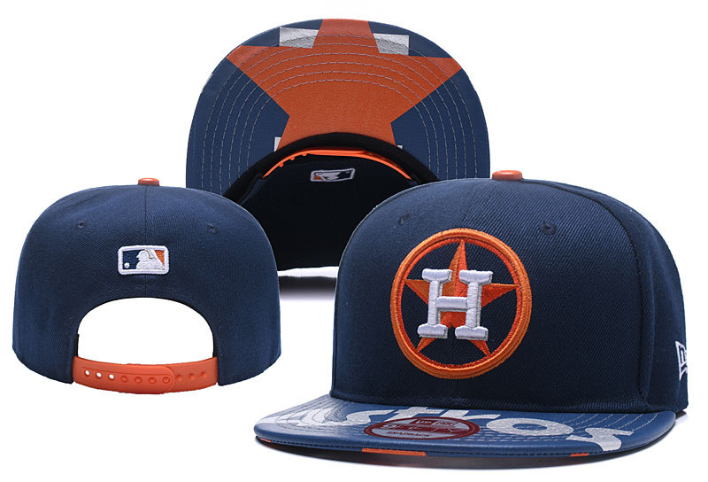 MLB Houston Astros Stitched Snapback Hats 003