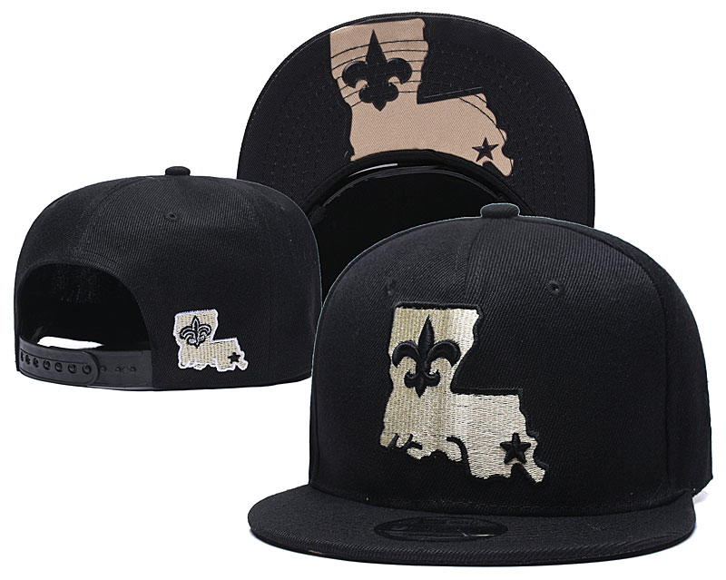NFL New Orleans Saints Stitched Snapback Hats 017