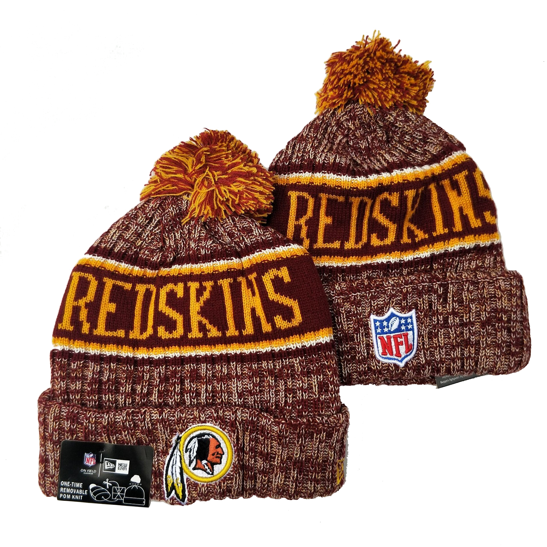 Washington Football Team Knit Hats 046