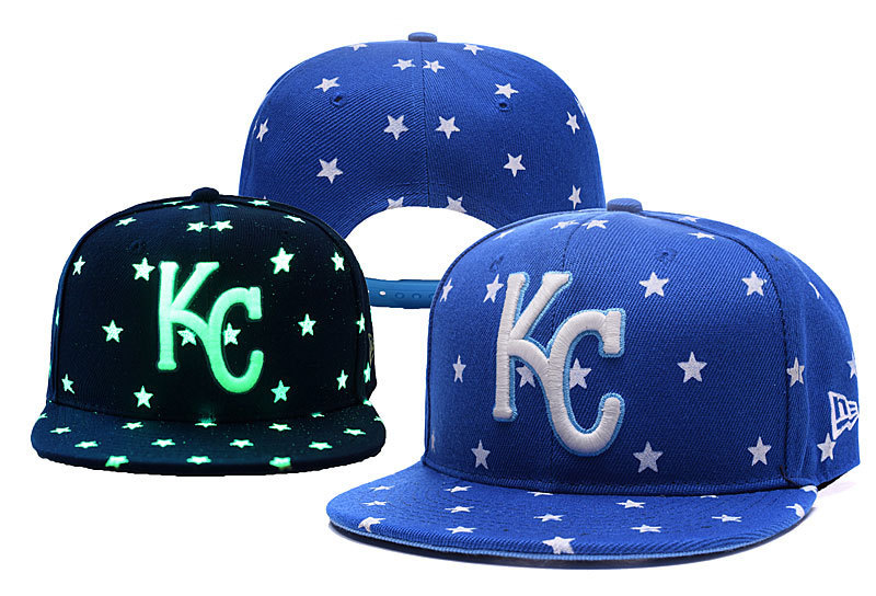 MLB Kansas City Royals Stitched Snapback Hats 007