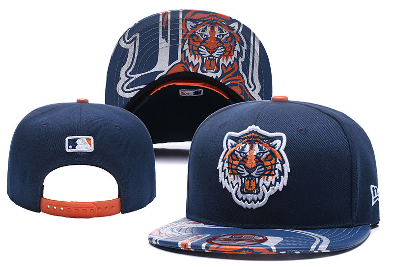 MLB Detroit Tigers Stitched Snapback Hats 004