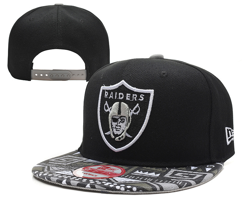 NFL Oakland Raiders Stitched Snapback Hats 002