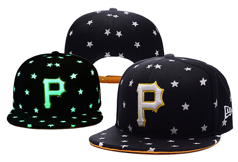 MLB Pittsburgh Pirates Stitched Snapback Hats 002