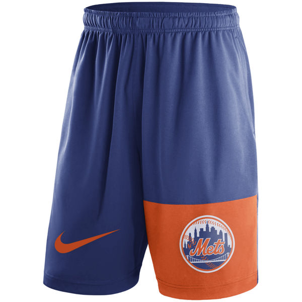 Men's New York Mets Nike Royal Cooperstown Collection Dry Fly Shorts