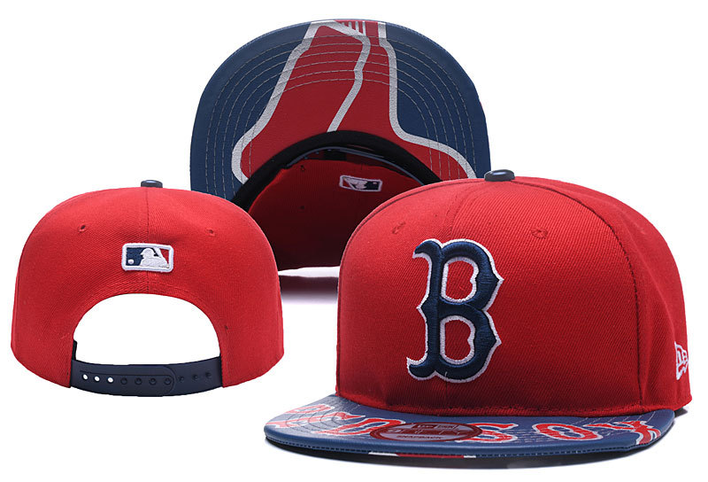 MLB Boston Red Sox Stitched Snapback Hats 010