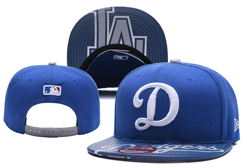 MLB Los Angeles Dodgers Stitched Snapback Hats 006