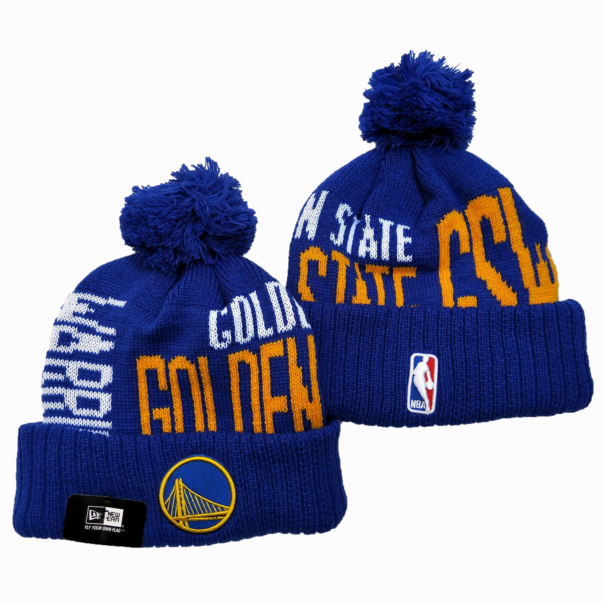 NBA Golden State Warriors 2019 Knit Hats 005