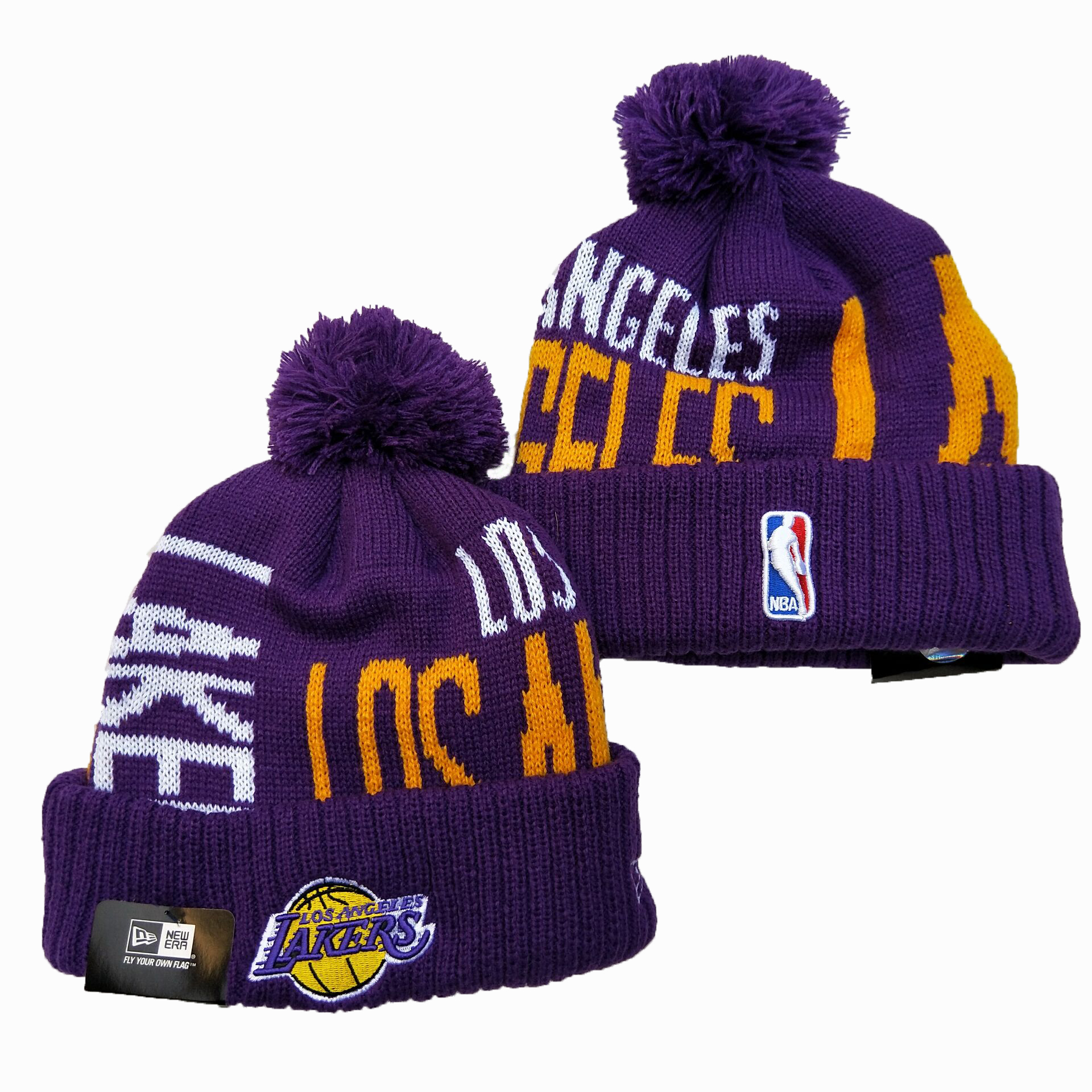 NBA Los Angeles Lakers 2019 Knit Hats 007