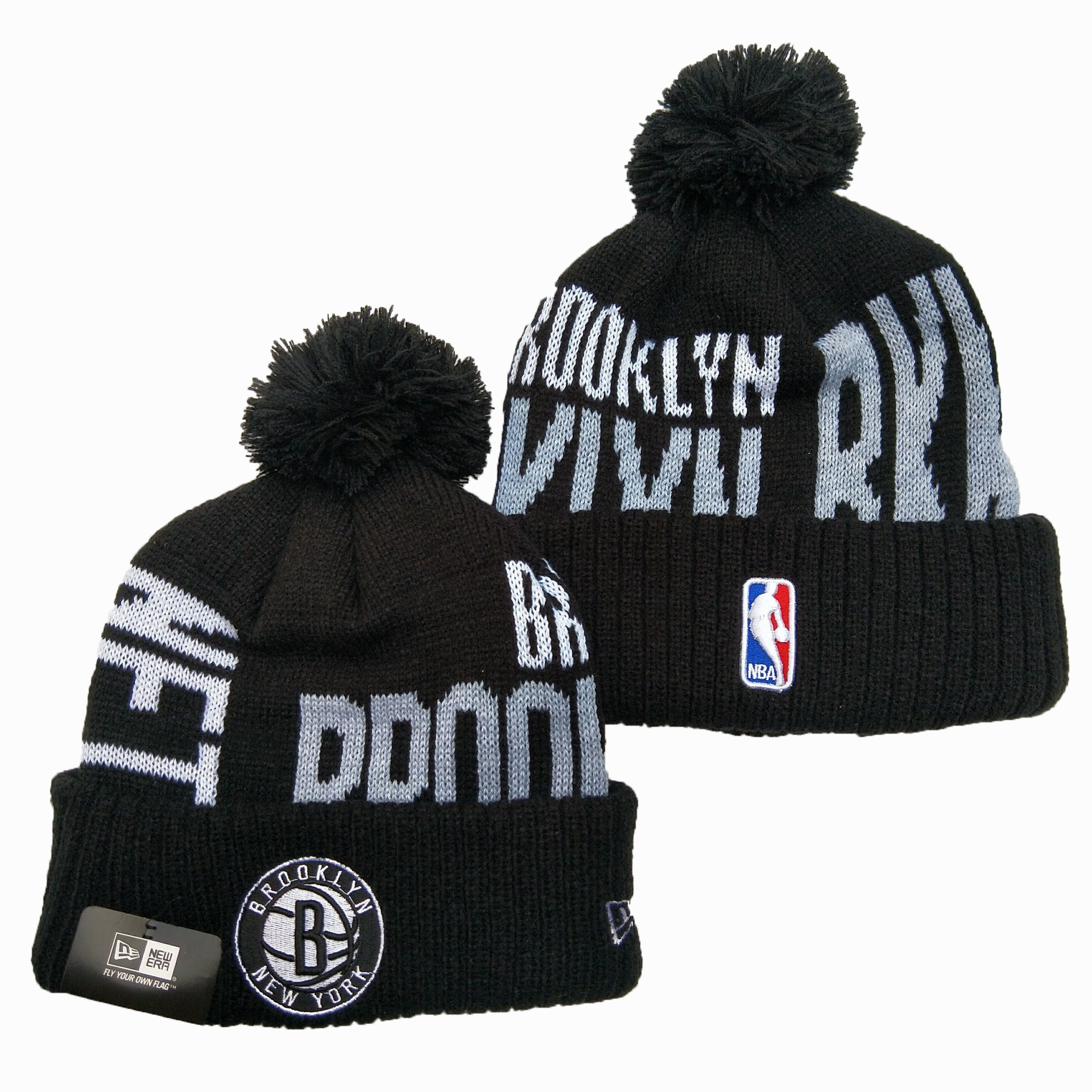 NBA Brooklyn Nets 2019 Knit Hats 004