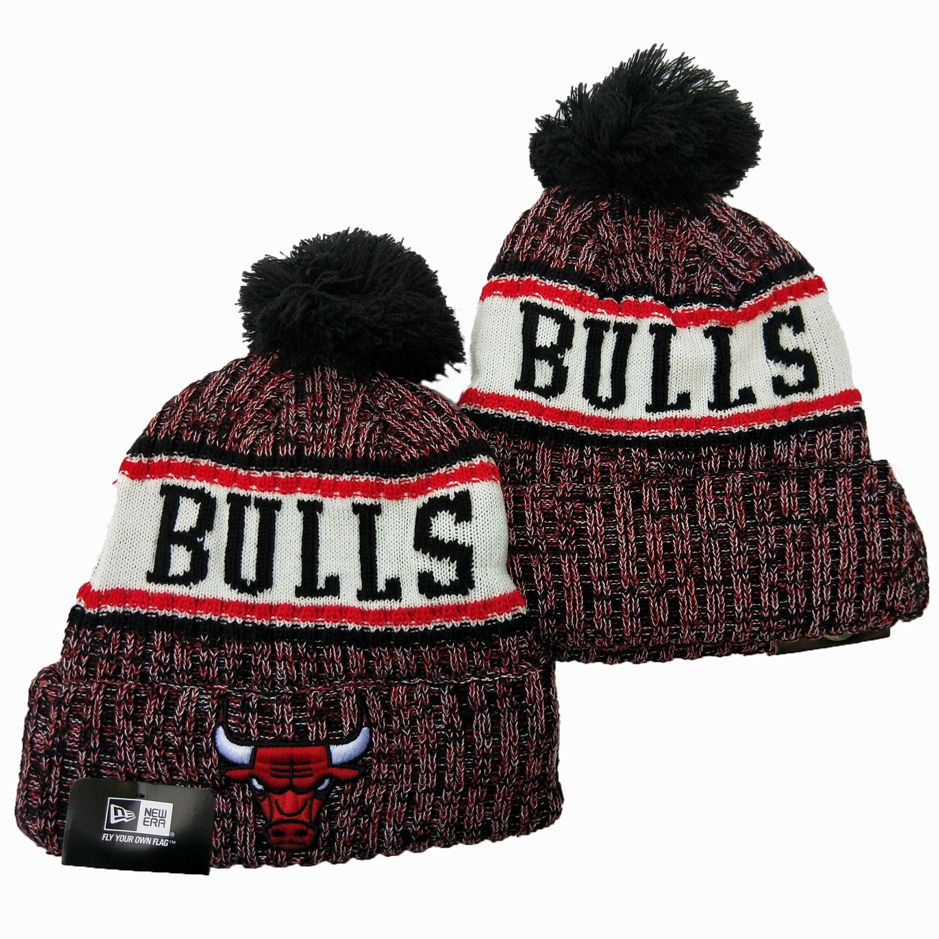 NBA Chicago Bulls 2019 Knit Hats 027