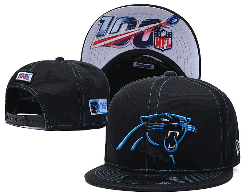 NFL Carolina Panthers 2019 100th Season Stitched Snapback Hats 035