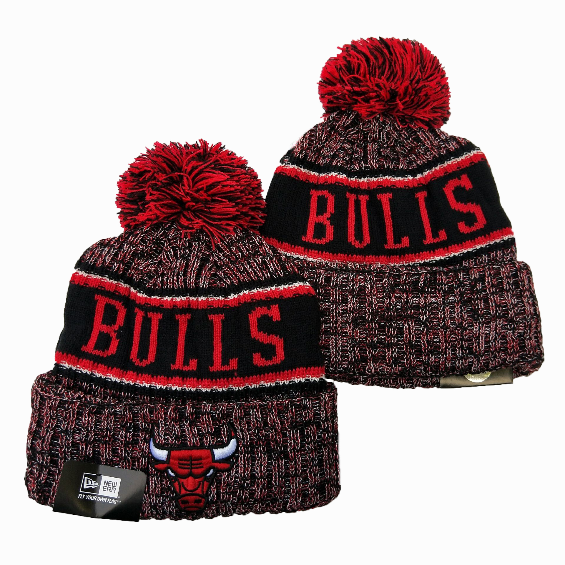 NBA Chicago Bulls 2019 Knit Hats 028