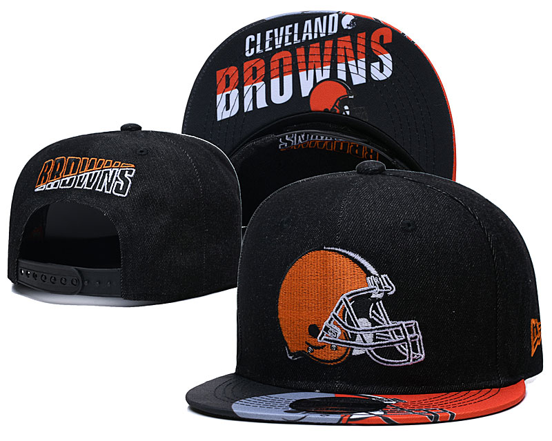 Cleveland Browns Stitched Snapback Hats 030
