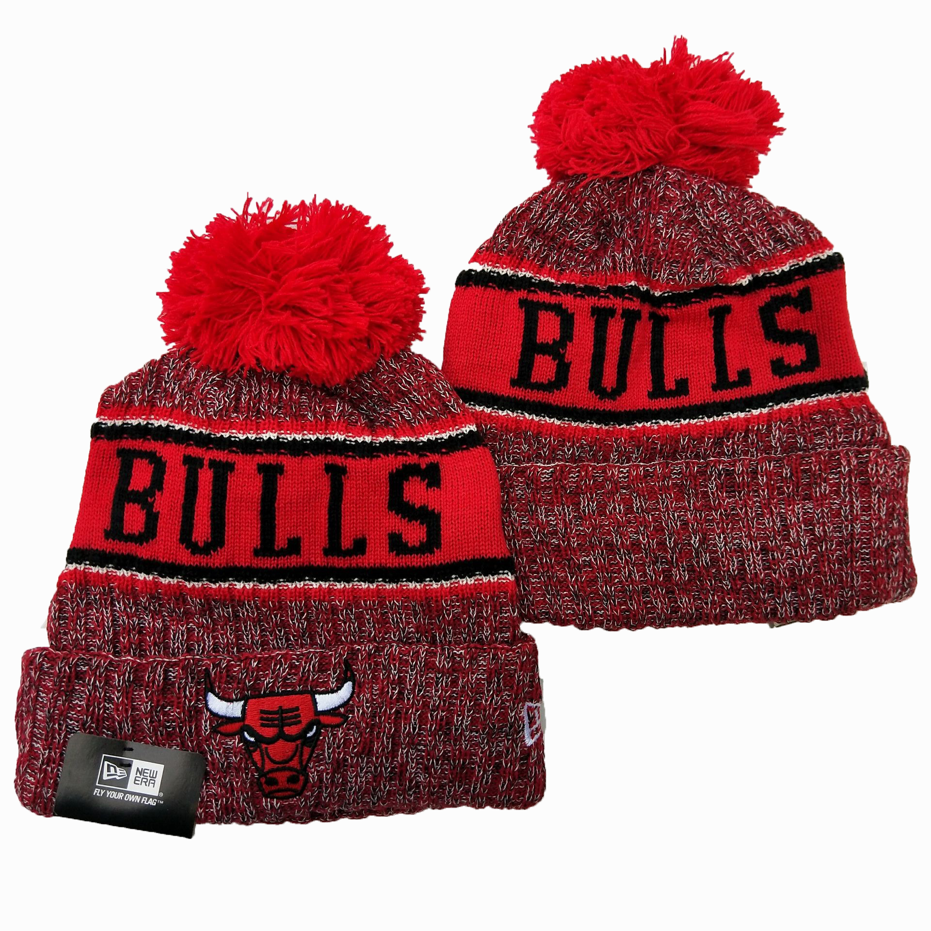 NBA Chicago Bulls 2019 Knit Hats 029