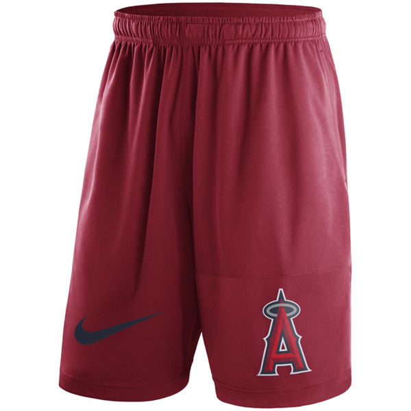 Men's Los Angeles Angels of Anaheim Nike Red Dry Fly Shorts