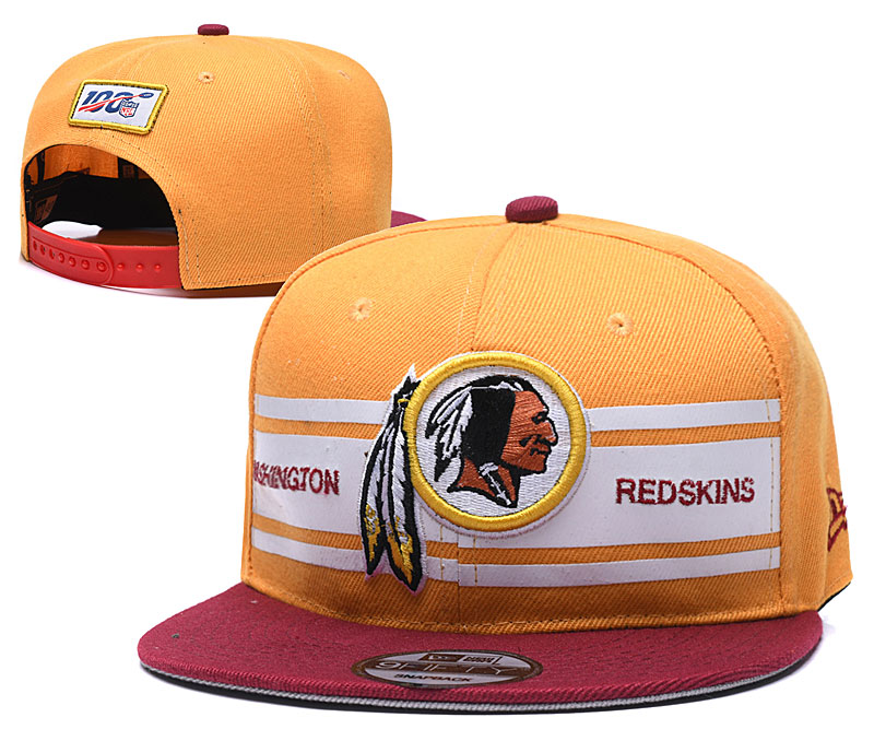 NFL Washington Redskins 2019 100th Season Stitched Snapback Hats 028