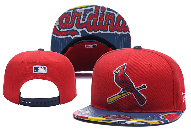 MLB St.Louis Cardinals Stitched Snapback Hats 002