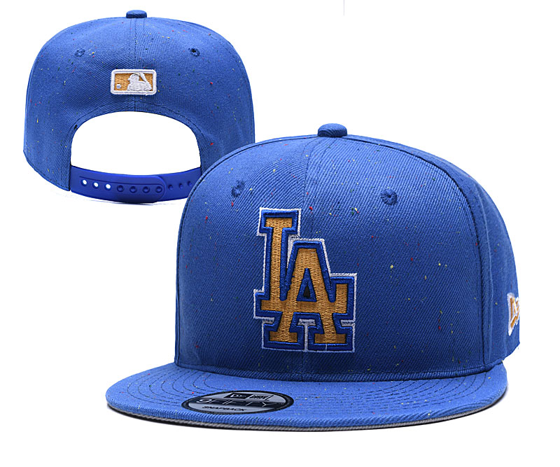 MLB Los Angeles Dodgers Stitched Snapback Hats 002