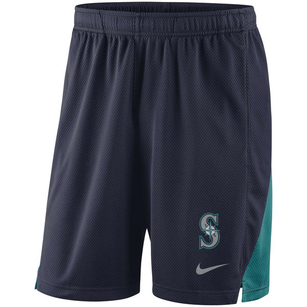 Men's Seattle Mariners Navy Franchise Performance Shorts