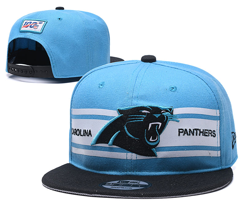 NFL Carolina Panthers 2019 100th Season Stitched Snapback Hats 034