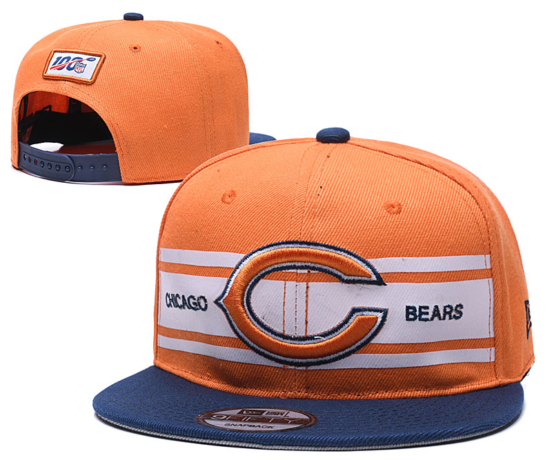 NFL Chicago Bears Stitched Snapback Hats 034