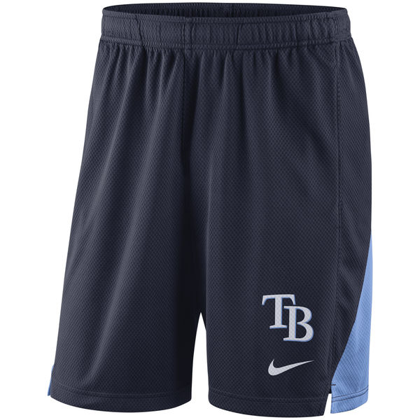 Men's Tampa Bay Rays Navy Franchise Performance Shorts