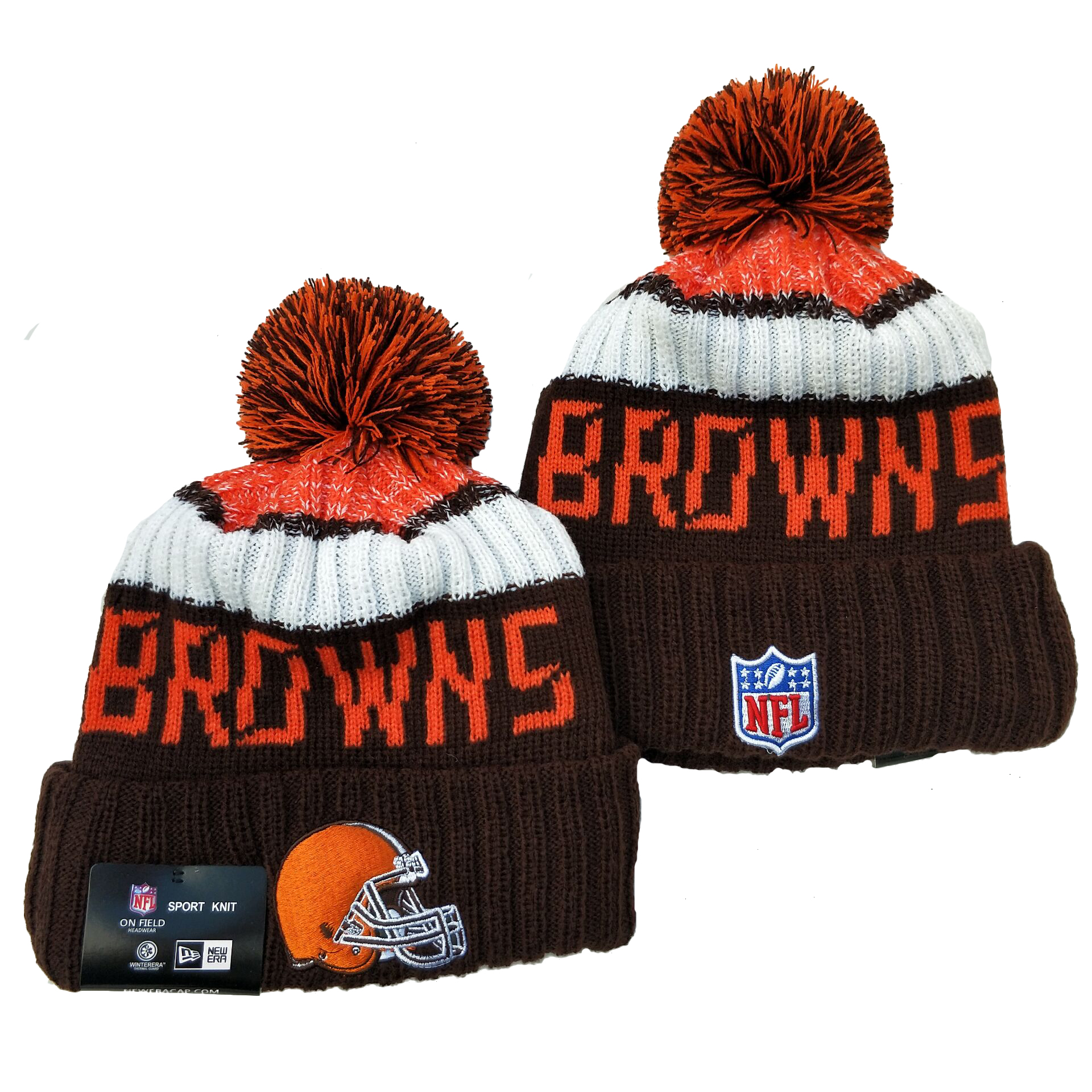 Cleveland Browns Knit Hats 046