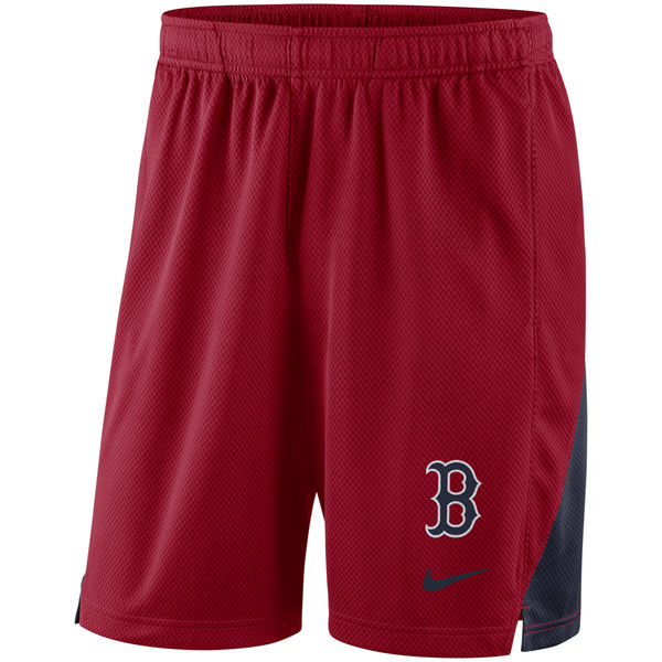 Men's Boston Red Sox Red Franchise Performance Shorts
