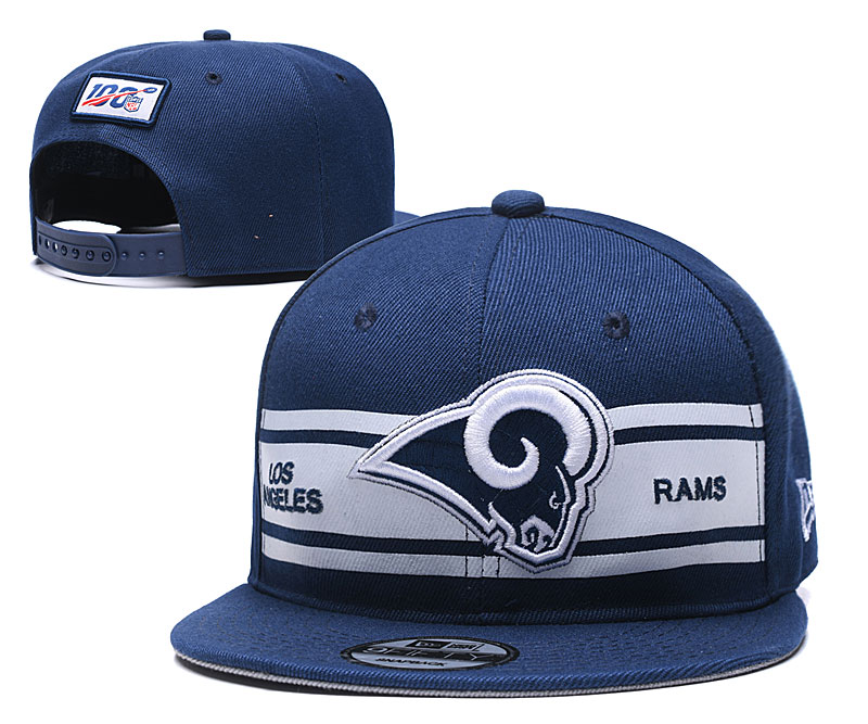 NFL Los Angeles Rams 2019 100th Season Stitched Snapback Hats 024