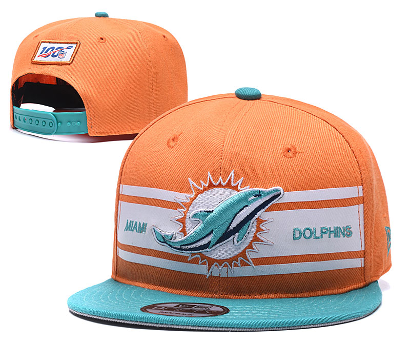 NFL Miami Dolphins 2019 100th Season Stitched Snapback Hats 023