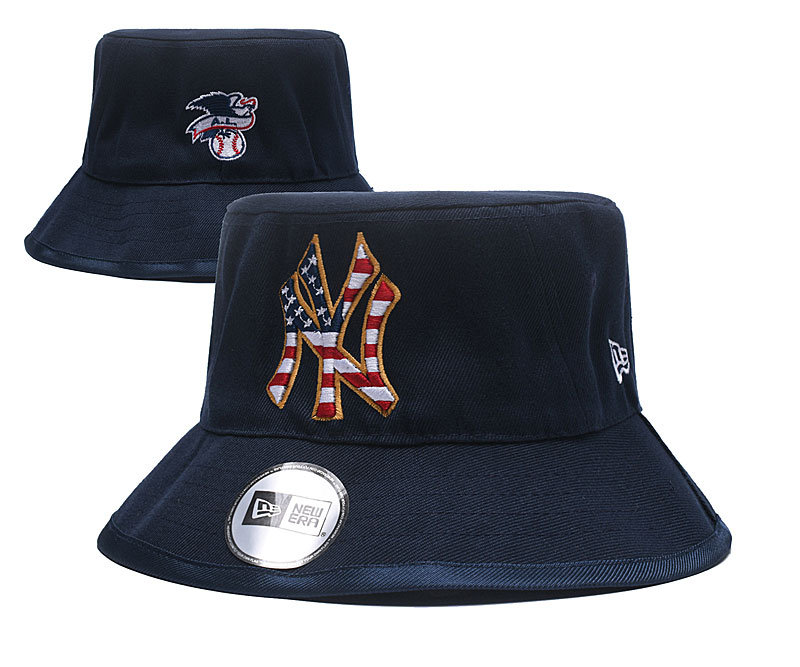 MLB New York Yankees Stitched Snapback Hats 004