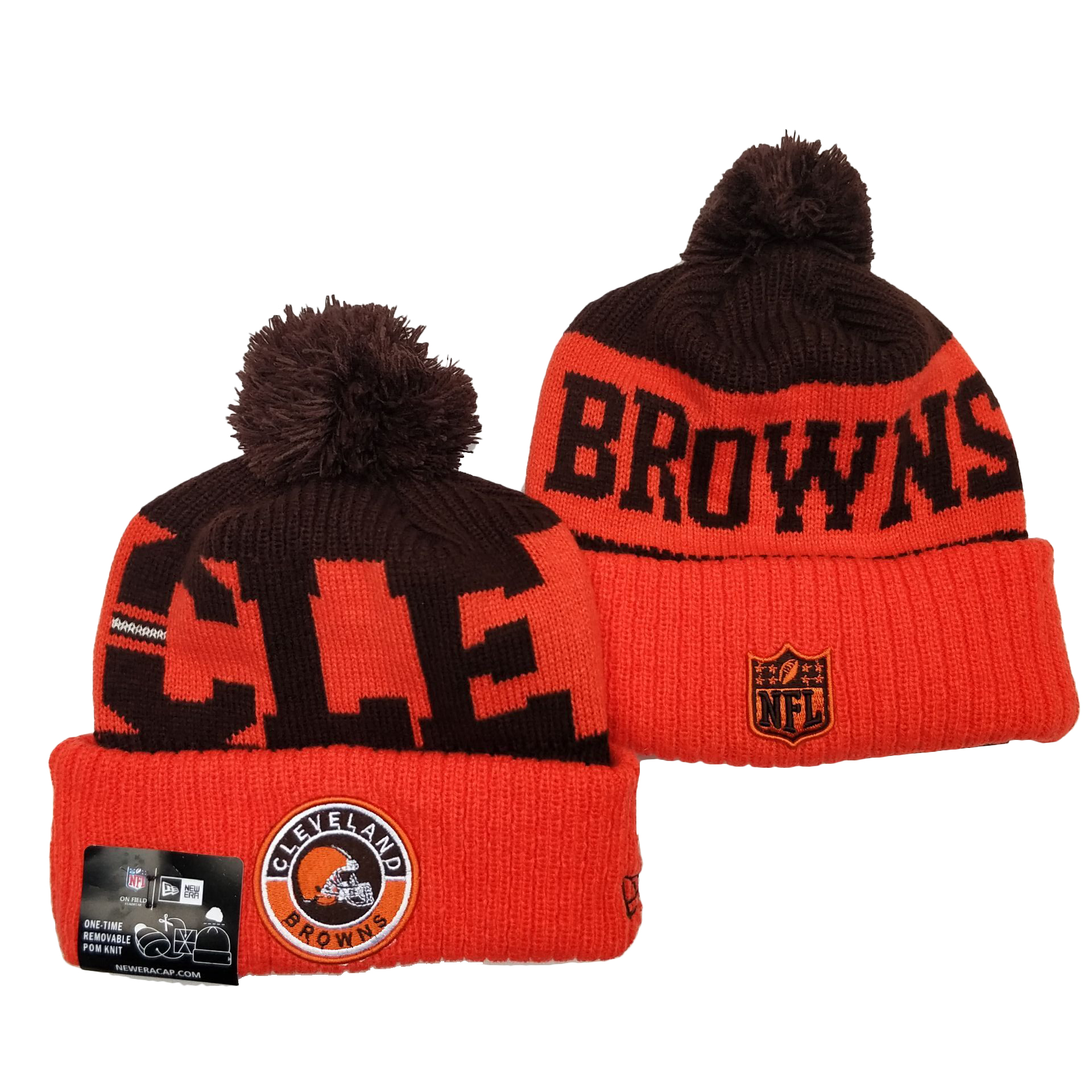 Cleveland Browns Knit Hats 051