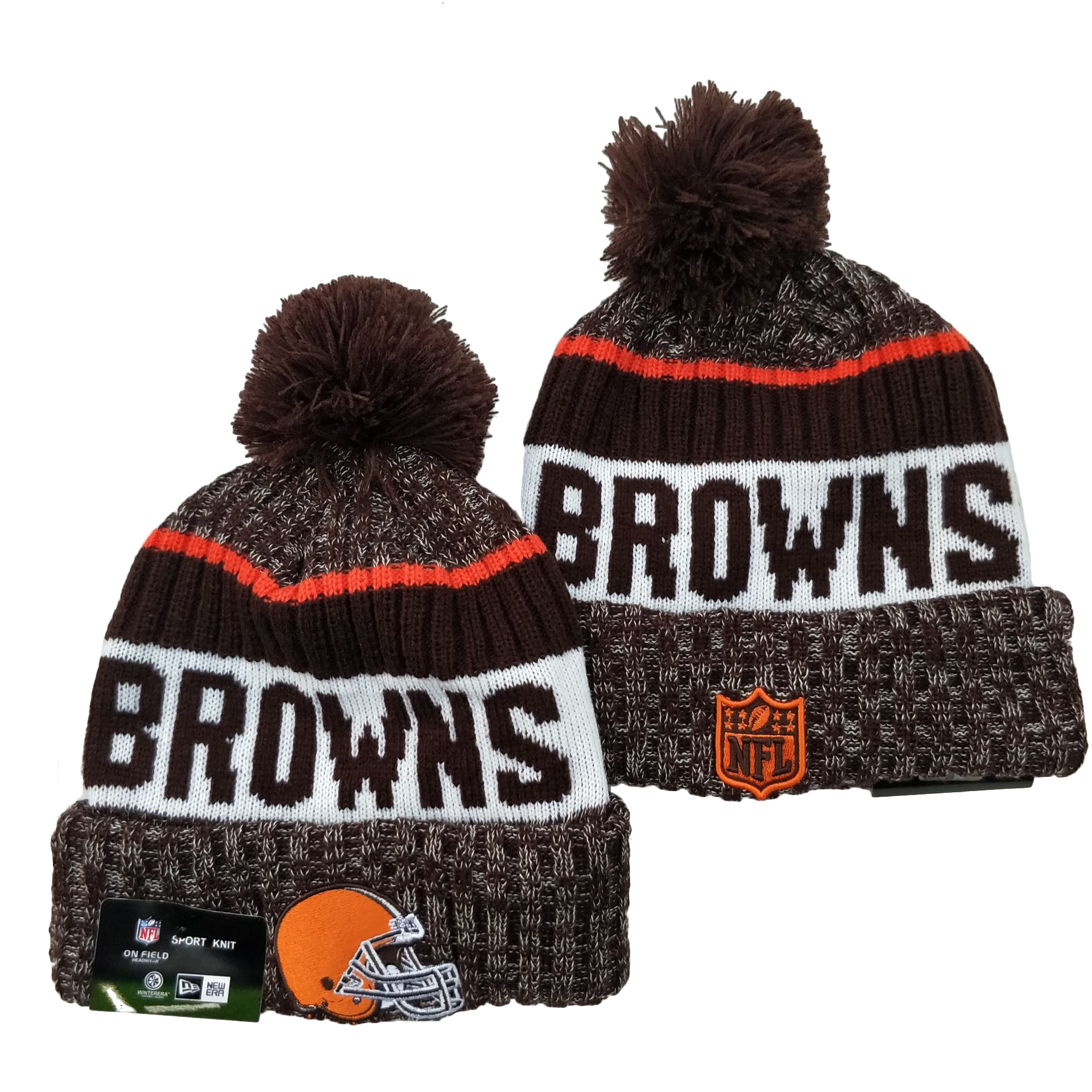 Cleveland Browns Knit Hats 048