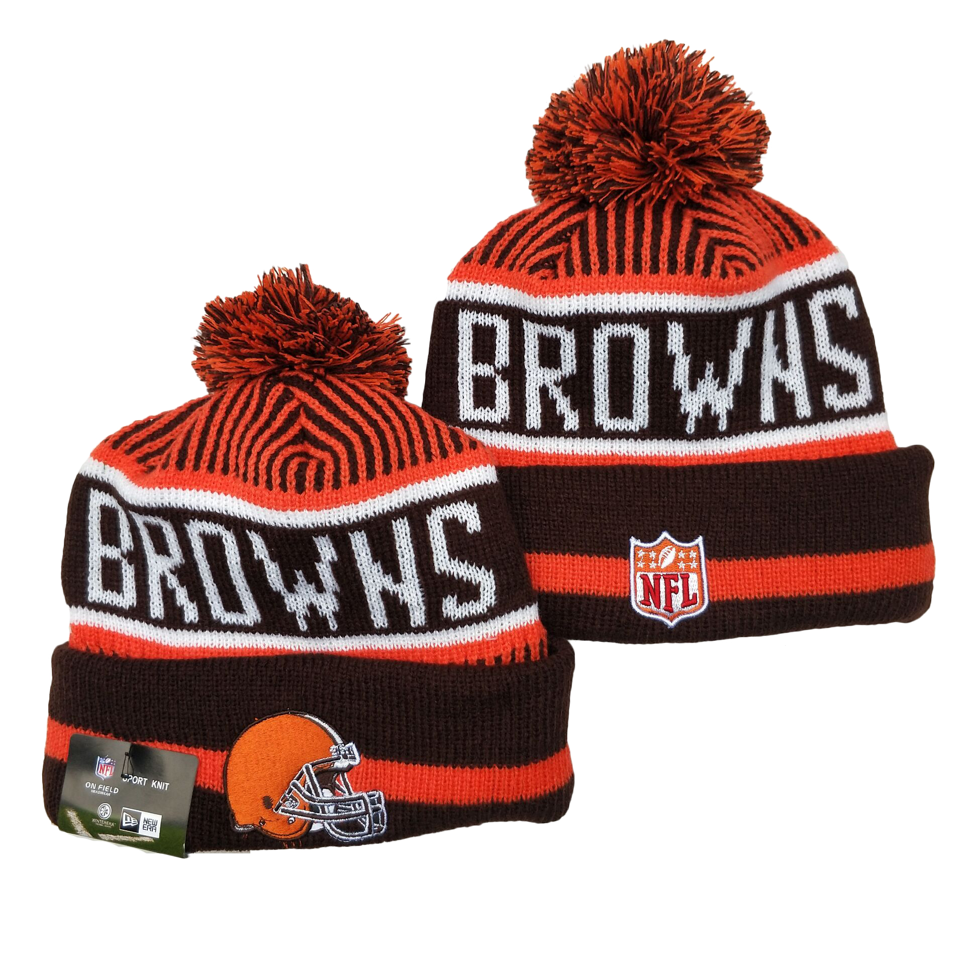 Cleveland Browns Knit Hats 052