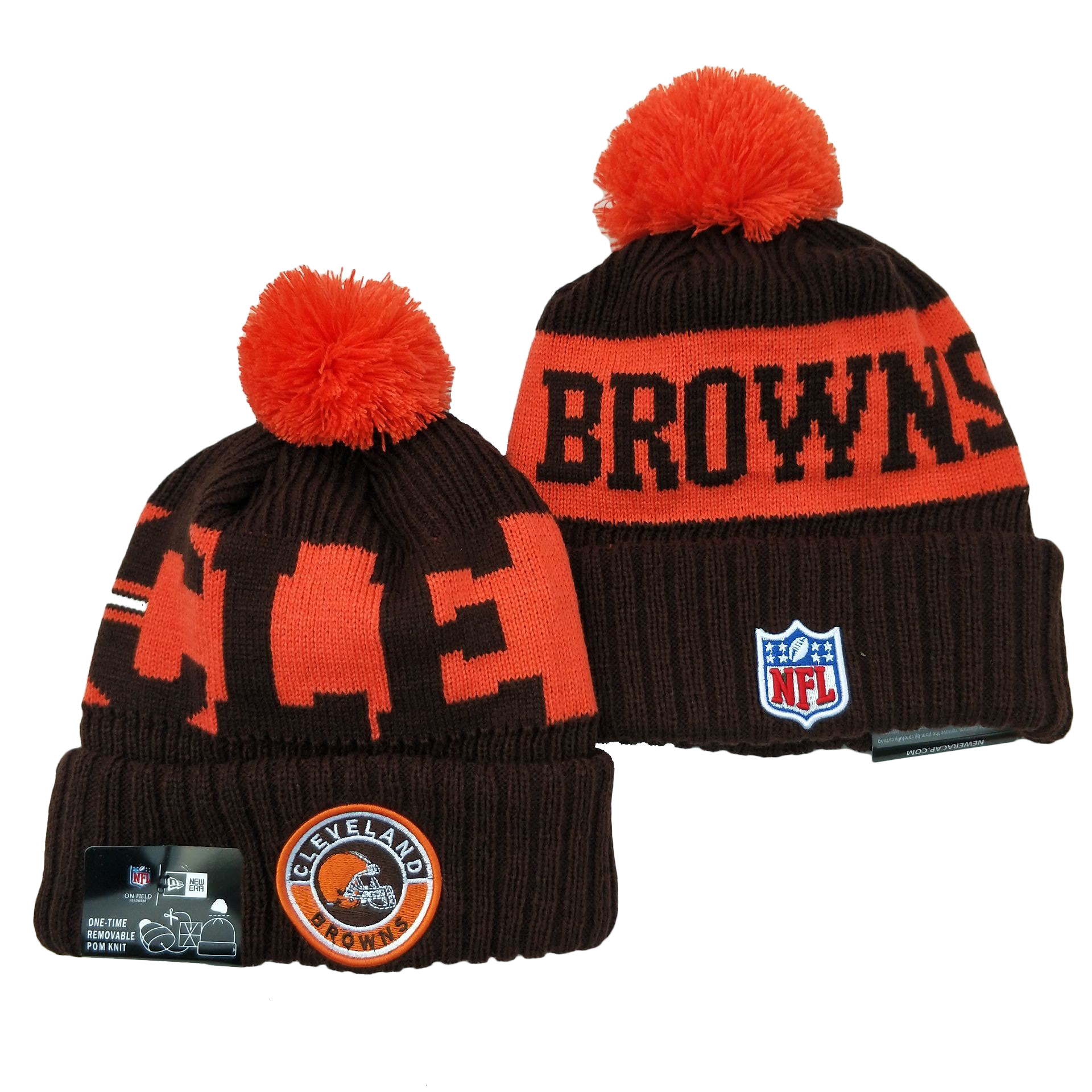 Cleveland Browns Knit Hats 049