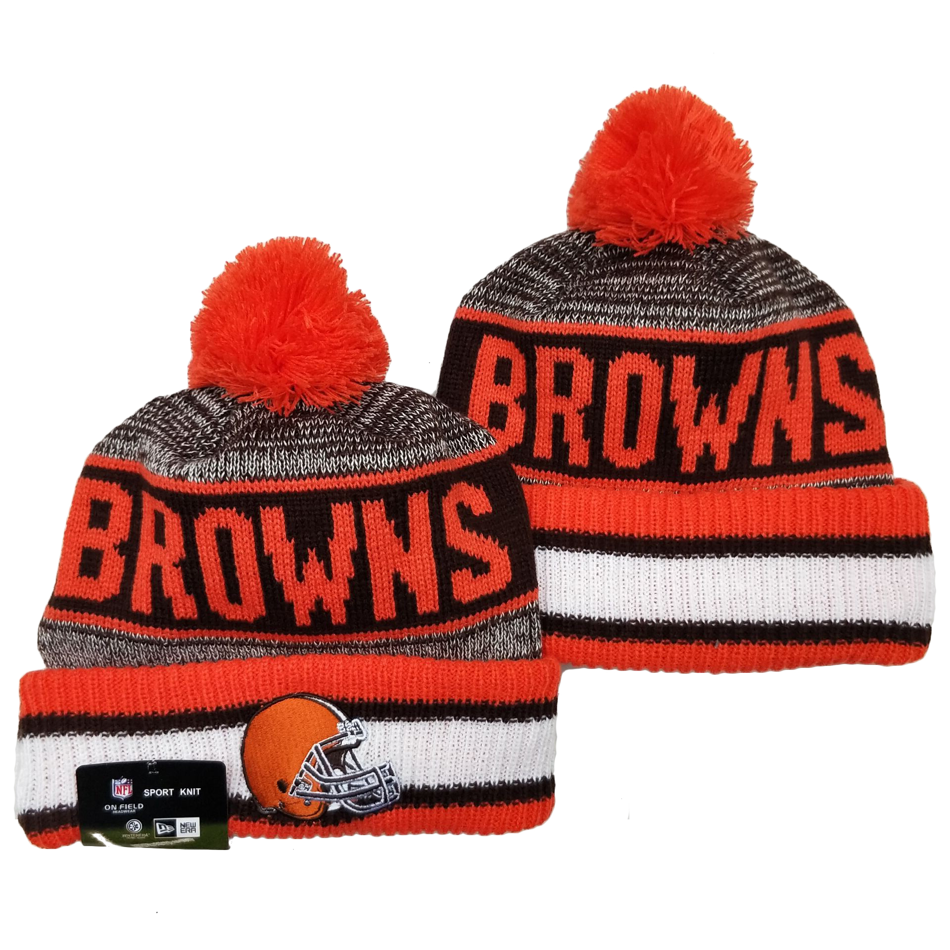 Cleveland Browns Knit Hats 053