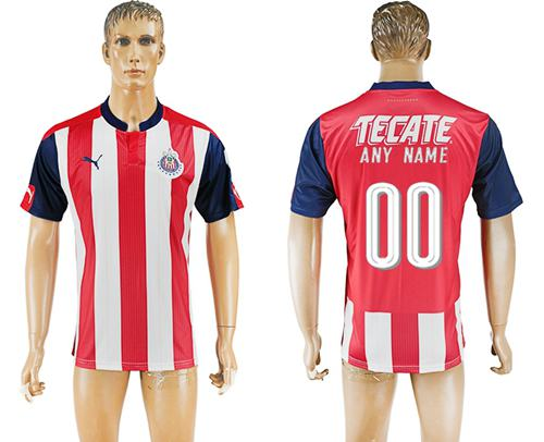 Guadalajara Personalized Home Soccer Club Jersey