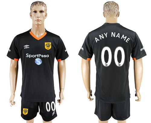 Hull City Personalized Away Soccer Club Jersey