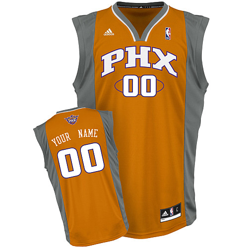 Suns Personalized Authentic Orange NBA Jersey (S-3XL)