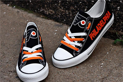 Women's Philadelphia Flyers Repeat Print Low Top Sneakers 001